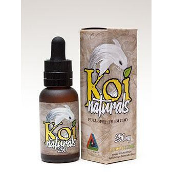 Full Spectrum CBD Oil - Lemon/Lime Flavor by KOI Naturals (250mg, 500mg or 1000mg Bottles)