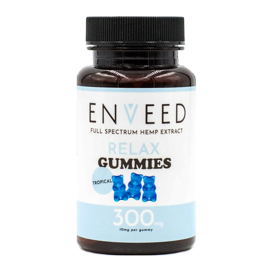 Full Spectrum CBD RELAX Gummies - For Anxiety & Sleep Aide - 10mg each (30ct Bottle)