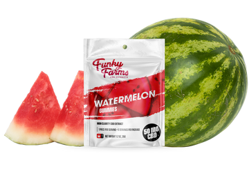 Watermelon CBD Gummies - 50mg (5 pieces)