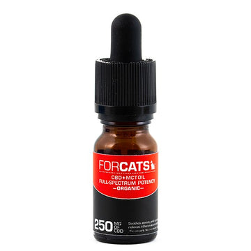 Cat CBD Oil - Extra Strength 250mg (10mL Bottle)