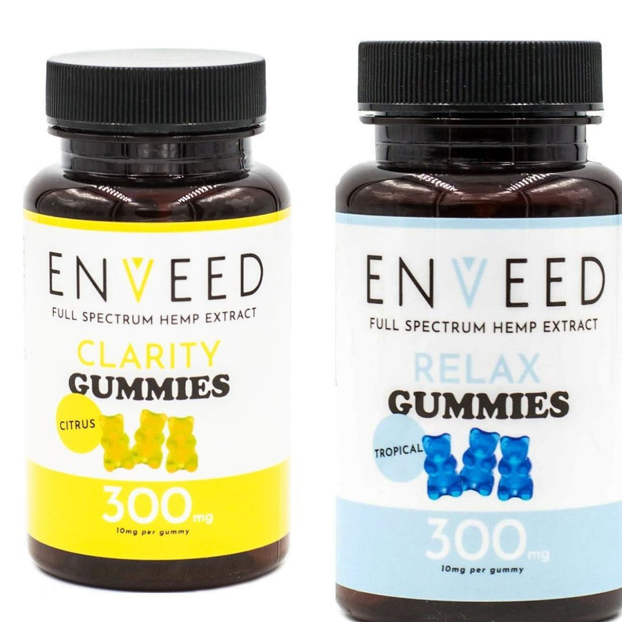 *BUNDLE* CBD Gummies - 1 CLARITY and 1 RELAX