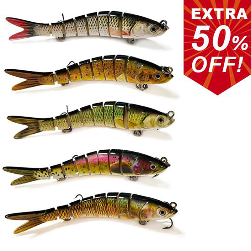 60% off!!---simulation bait (Buy 6 get 4 free)