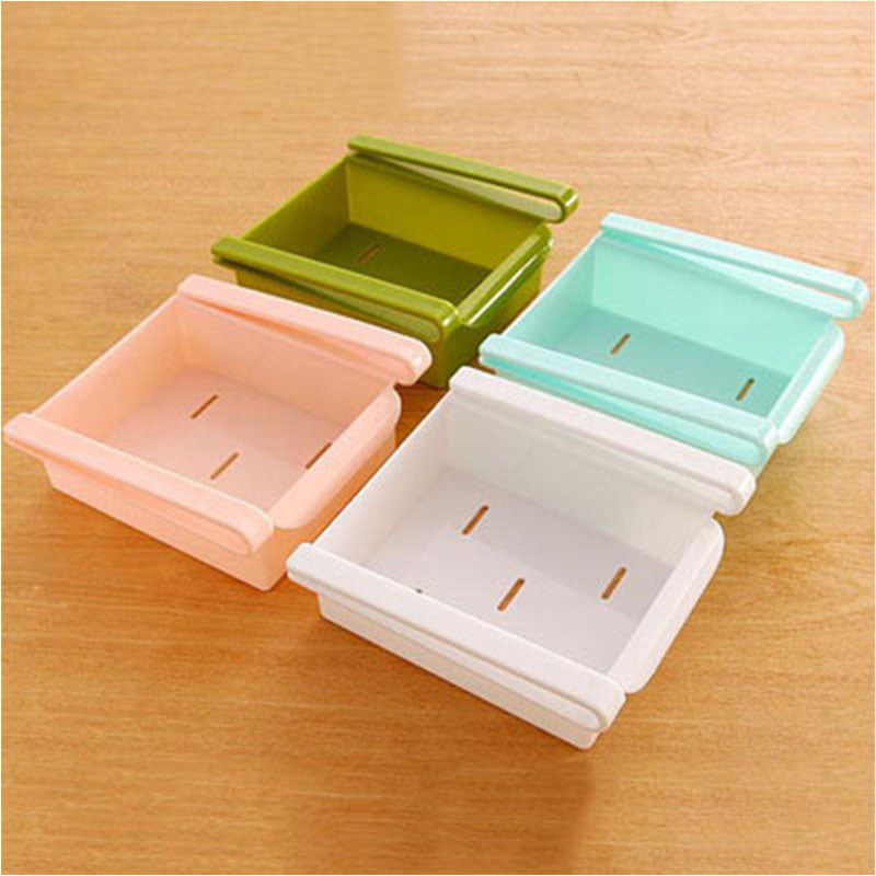 (Only $6.9 today) Refrigerator Pull Out Storage Drawers