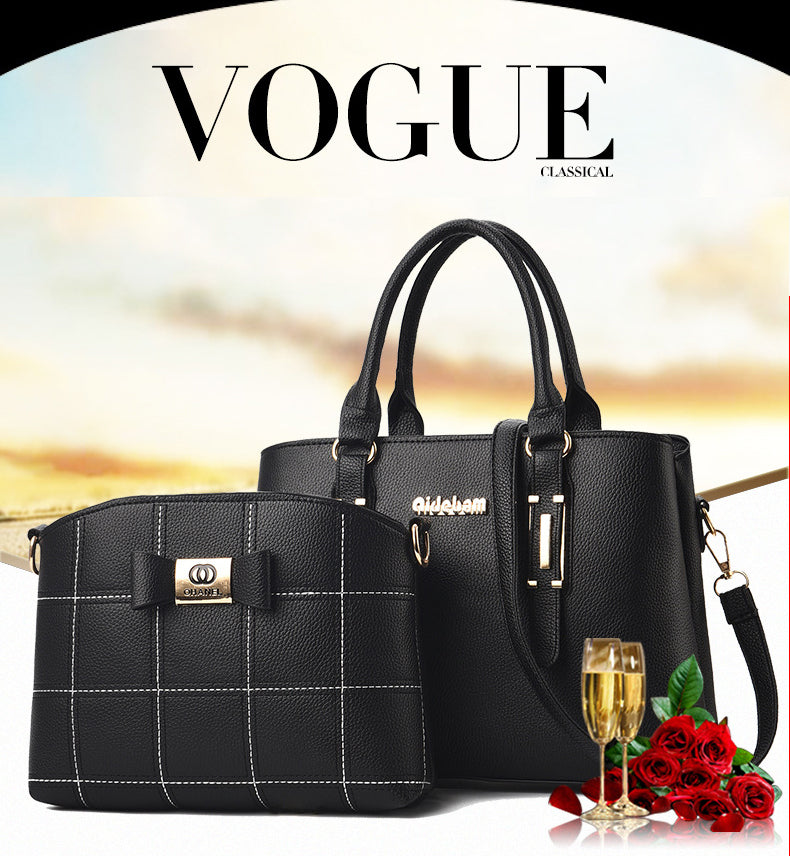 (Buy  handbag get  shoulder bag free+ free shipping) - Fashion handbags - only 60% OFF TODAY!