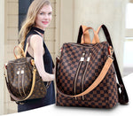 (The best selling backpack+Free Shipping)-Fashion Leather Backpack-60%OFF ONLY FOR TODAY!