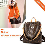 (Buy 2 get one free+Free Shipping)Fashion Leather Backpack