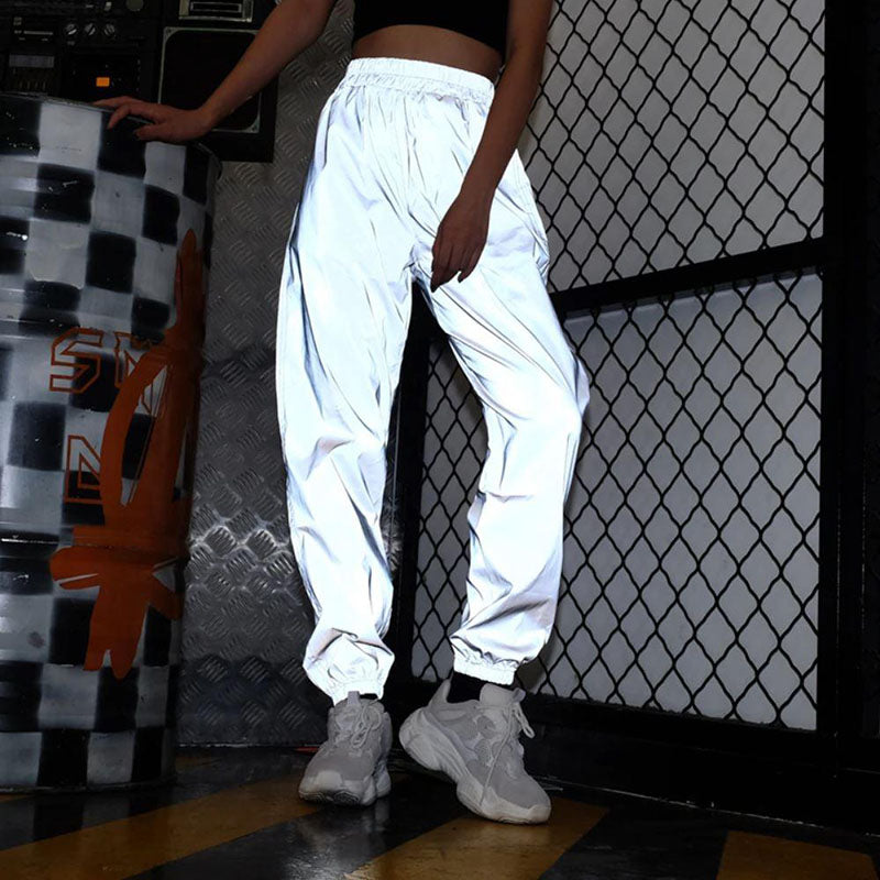 50% OFF - Reflective Jogger Pants