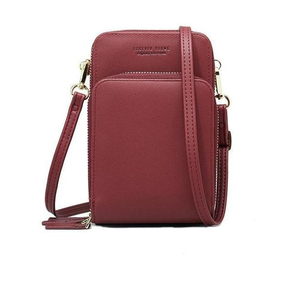 (The best selling backpack+Free Shipping)50%OFF--Crossbody Cell Phone Shoulder Bag