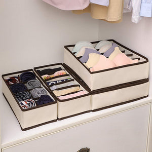 (60% OFF!-ONLY TODAY+BUY 2 GET 1 FREE!) Foldable Closet Underwear Organizer