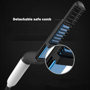 Beard Straightening Comb&Quick Hair Styler for Men(All Handsome men use it↓↓↓↓)