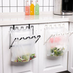 (50%OFF!!!BUY 2 GET 1FREE +FREE SHIPPING) Plastic Bag Hanger