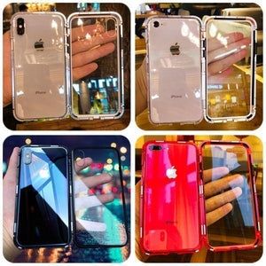 (Buy 1, second half price)✨Luxury magnet glass case phone case for   iphone /Samsung