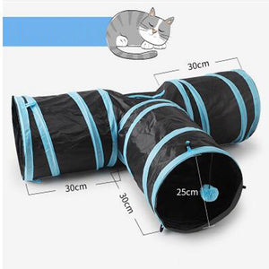 Pet Cat Tunnel Training Toys