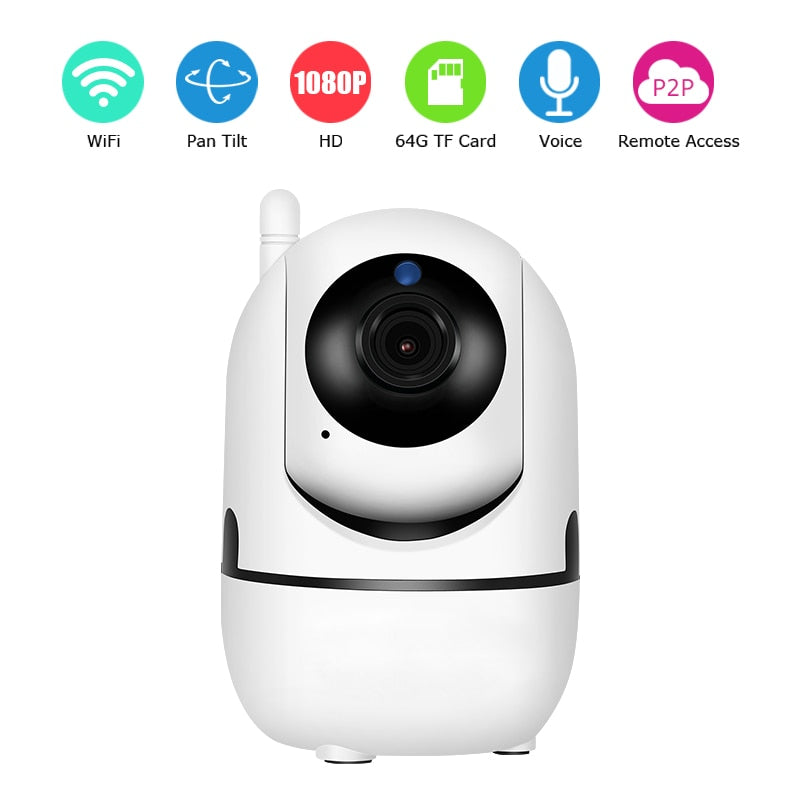 Smart AI Security Camera 1080P