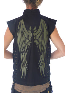 Mens Winged Vest