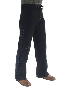 Mens Wild West Canvas Pants