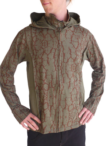 Mens Cotton Hoodie Tree Skin