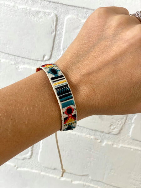 Boujie Bee Embroidered Bracelets