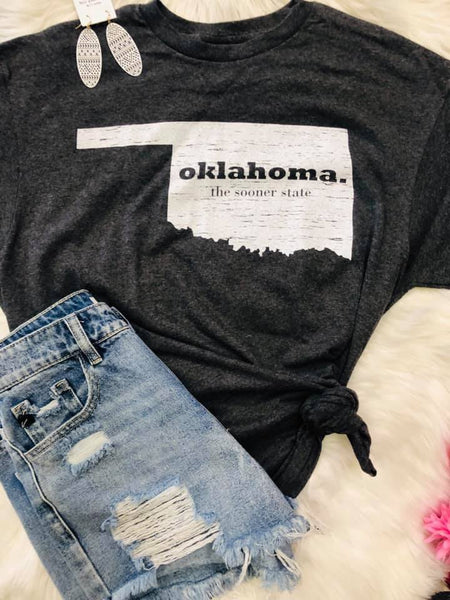OK The Sooner State Tee