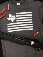 Flag with Texas Tee