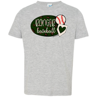 Ranger Baseball Toddler Jersey T-Shirt