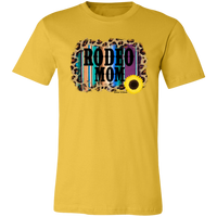 Rodeo Mom Leopard and Serape - Several Shirt Colors Available