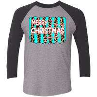 Merry Texas Christmas Y'all Raglan Jersey