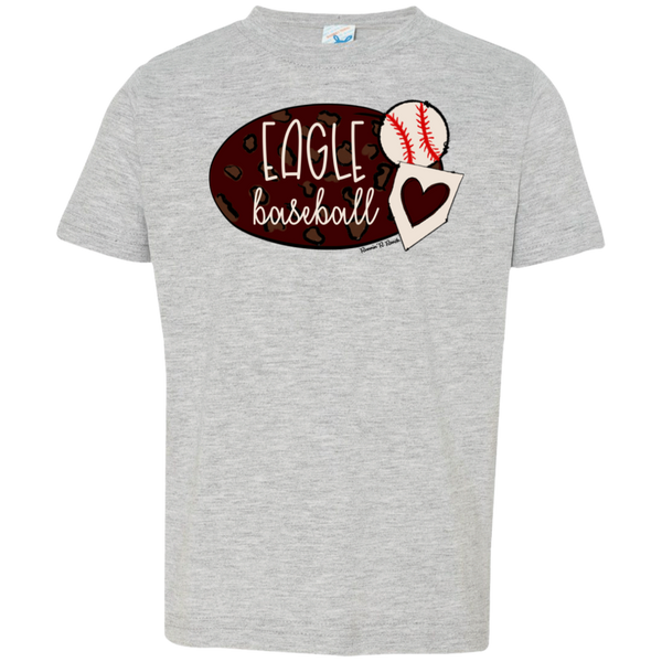 Eagle Baseball Toddler Jersey T-Shirt