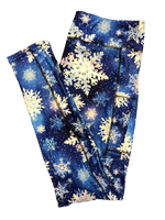Snowflakes 2020 Full Length Legging WITH pockets