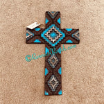 Aztec Resin Wall Cross