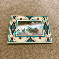 Aztec Resin Picture Frame