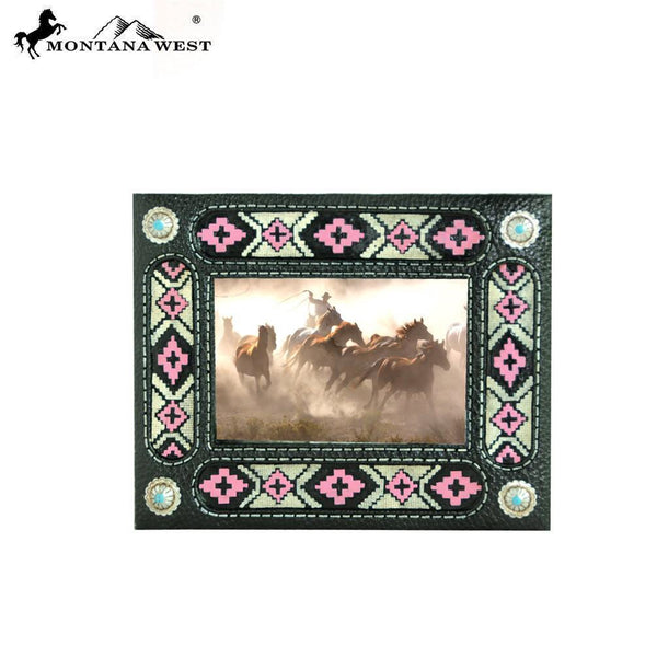 Aztec Pink And Black Resin Picture Frame