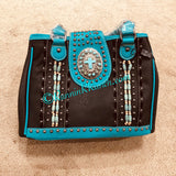 Turquoise Cross Purse