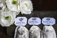 Essential Oil Bath Tea - Twin Set