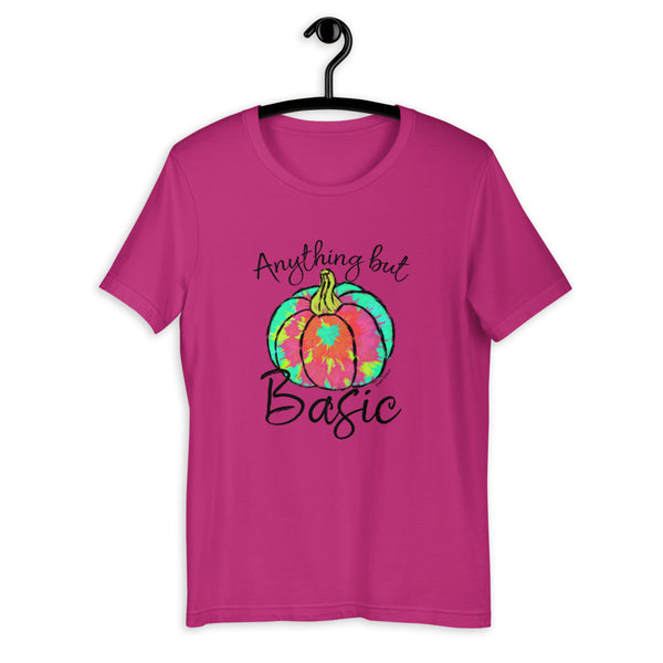 Anything But Basic Tie Dye Pumpkin Tee
