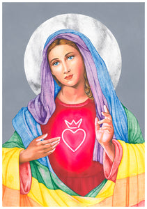 Mother Mary Limited Edition Print