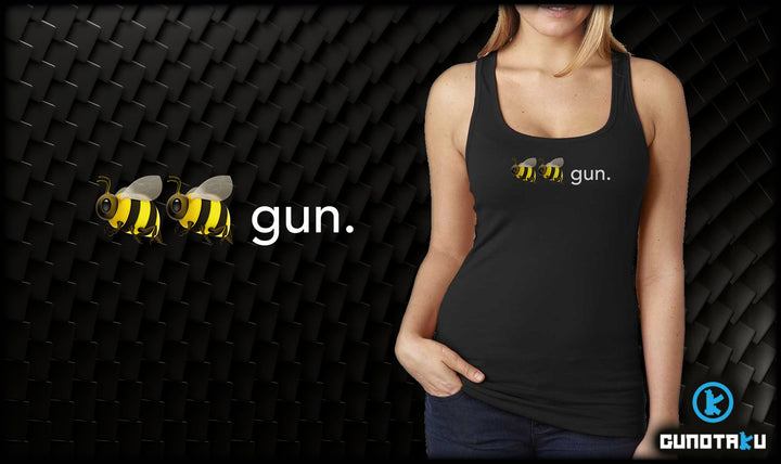 Bee Bee Gun Ladies Jersey Tank