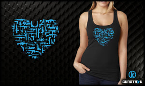 Gun Love Ladies Jersey Tank