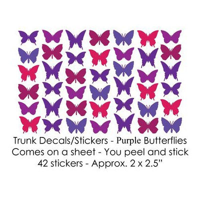 Butterfly Stickers / Decals