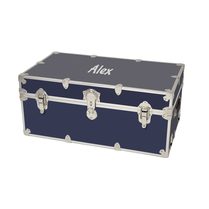 Large Sticker Trunk with Personalized Monogramming