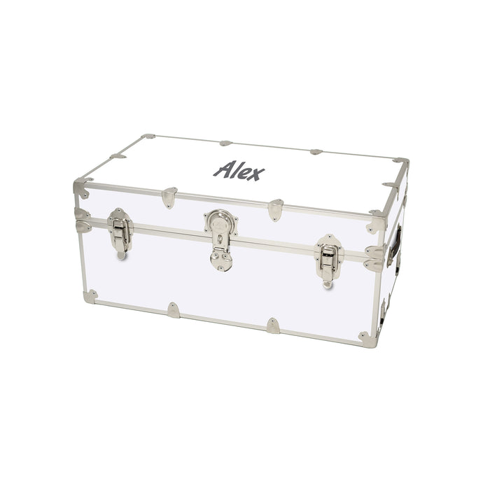 Small Sticker Trunk with Personalized Monogramming