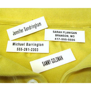 100 Iron-On Name Tapes