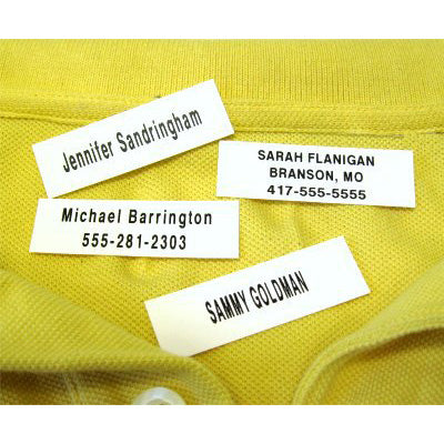 200 Iron-On Name Tapes