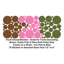 Load image into Gallery viewer, Polka Dots Stickers / Decals