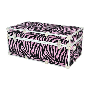 "Small Zebra Trunk - 30"" x 16"" x 12.5"""