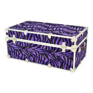 "Large Zebra Trunk - 32"" x 18"" x 14"""