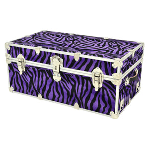 "XL Zebra Trunk - 34"" x 20"" x 15"""