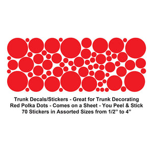 Polka Dots Stickers / Decals