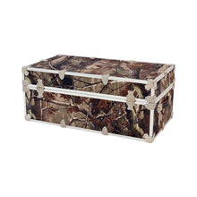 "Load image into Gallery viewer, Large Realtree Camo Trunk - 32"" x 18"" x 14"""
