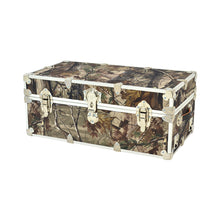 "Load image into Gallery viewer, Small Realtree Camo Trunk - 30"" x 16"" x 12.5"""